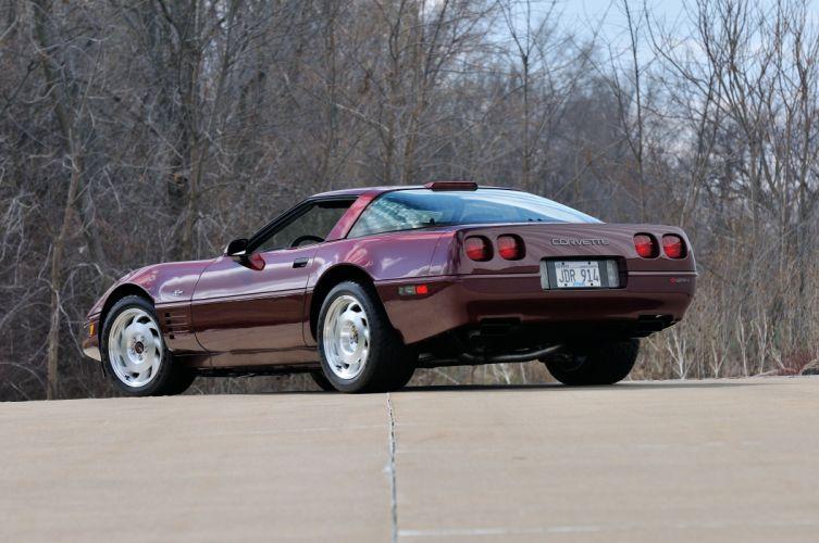 1993 Chevrolet Corvette ZR1 40th Anniversary Muscle USA 4200x2790-03 wallpaper
