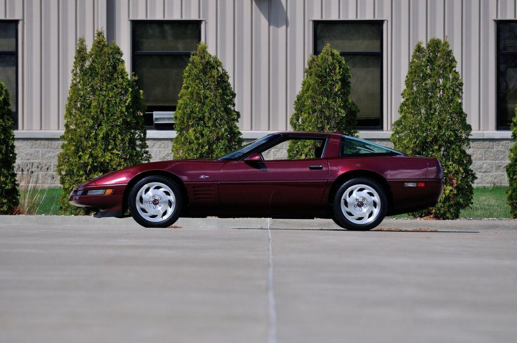 1993 Chevrolet Corvette ZR1 40th Anniversary Muscle USA 4200x2790-02 wallpaper