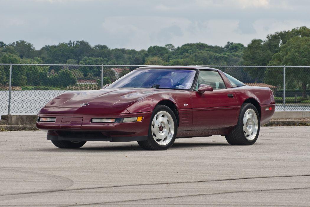 1993 Chevrolet Corvette ZR1 40th Anniversary Muscle USA 4200x2790-04 wallpaper