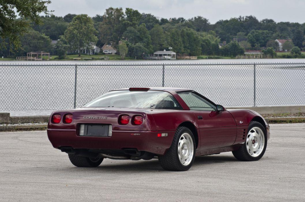 1993 Chevrolet Corvette ZR1 40th Anniversary Muscle USA 4200x2790-07 wallpaper
