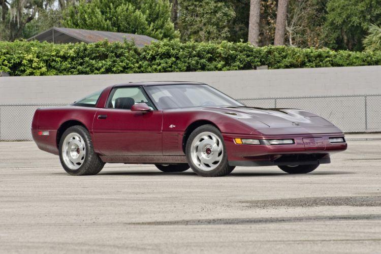 1993 Chevrolet Corvette ZR1 40th Anniversary Muscle USA 4200x2790-09 wallpaper
