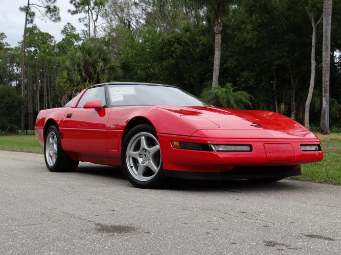 1993 Chevrolet Corvette ZR1 40th Anniversary Muscle USA 4200x2790-16 wallpaper