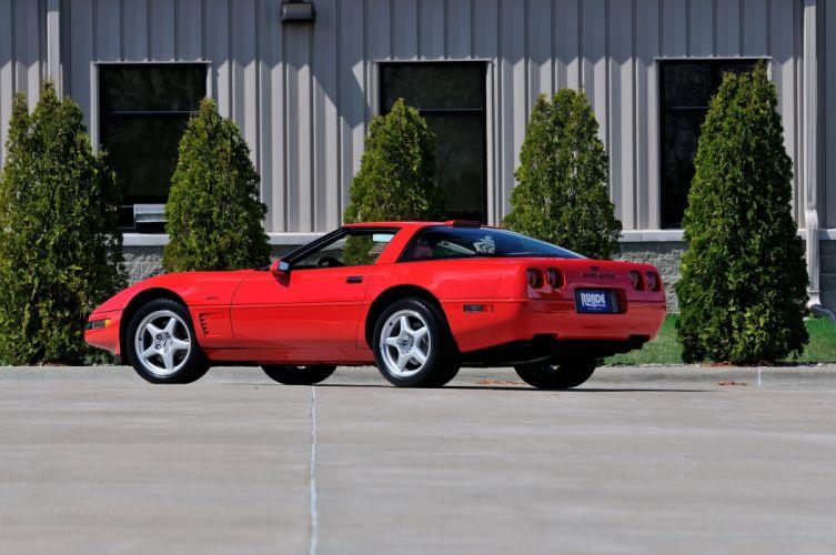 1993 Chevrolet Corvette ZR1 40th Anniversary Muscle USA 4200x2790-14 wallpaper