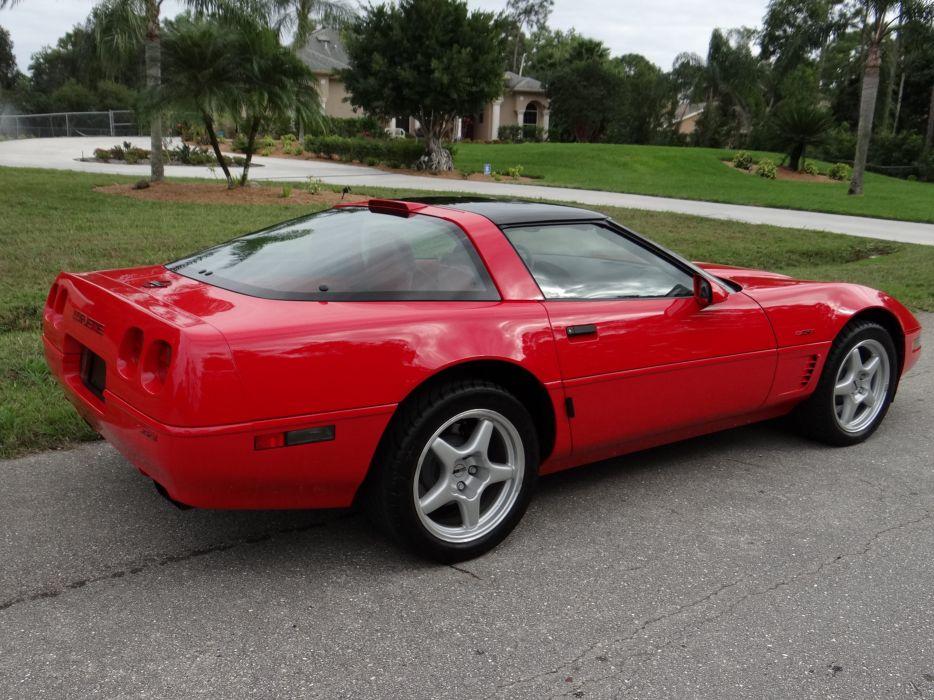 1993 Chevrolet Corvette ZR1 40th Anniversary Muscle USA 4200x2790-17 wallpaper