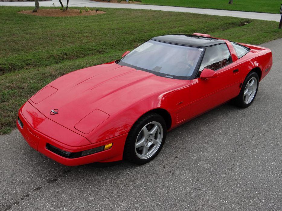 1993 Chevrolet Corvette ZR1 40th Anniversary Muscle USA 4200x2790-19 wallpaper