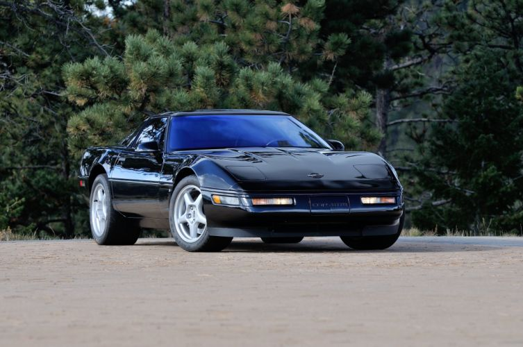 1994 Chevrolet Corvette ZR1 Muscle Black Classic USA 4200x2790-01 wallpaper