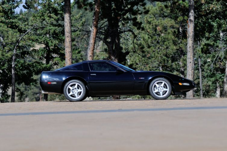 1994 Chevrolet Corvette ZR1 Muscle Black Classic USA 4200x2790-02 wallpaper