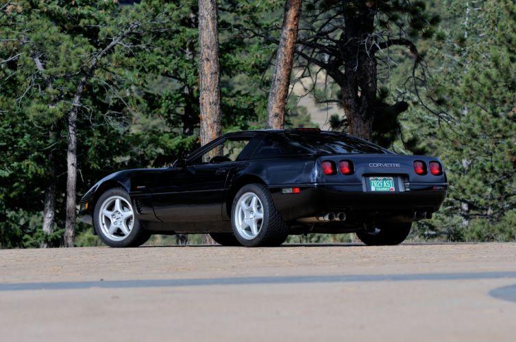 1994 Chevrolet Corvette ZR1 Muscle Black Classic USA 4200x2790-03 wallpaper