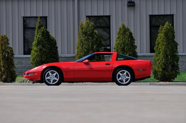 1994 Chevrolet Corvette ZR1 Muscle Red Classic USA 4200x2790-02 wallpaper