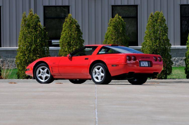 1994 Chevrolet Corvette ZR1 Muscle Red Classic USA 4200x2790-03 wallpaper