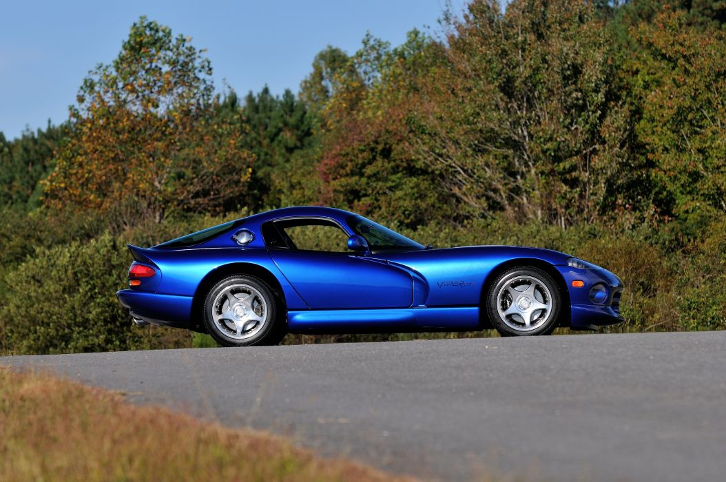 1996 Dodge Viper GTS Coupe Muscle Supercar USA 4200x2790-02 wallpaper