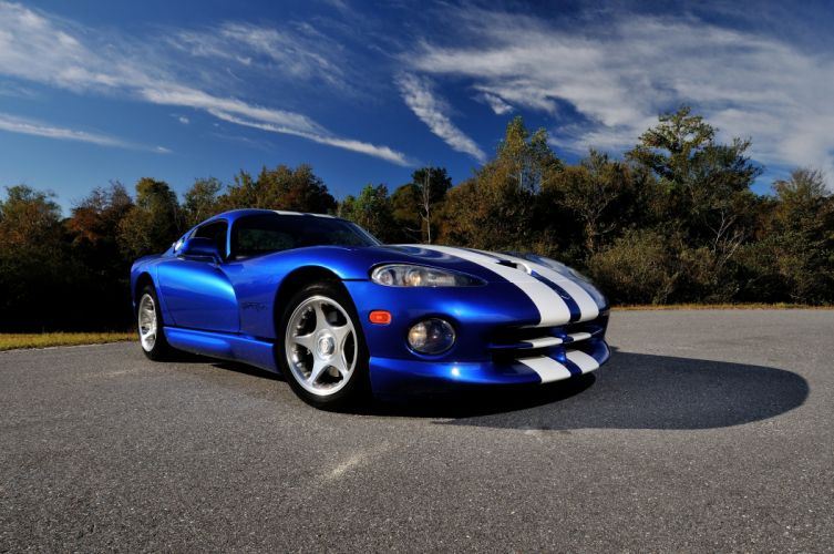 1996 Dodge Viper GTS Coupe Muscle Supercar USA 4200x2790-04 wallpaper