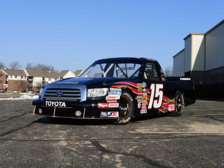 2007 Toyota Tundra NASCAR Race Truck Race Truck USA 2550x1920-07 wallpaper