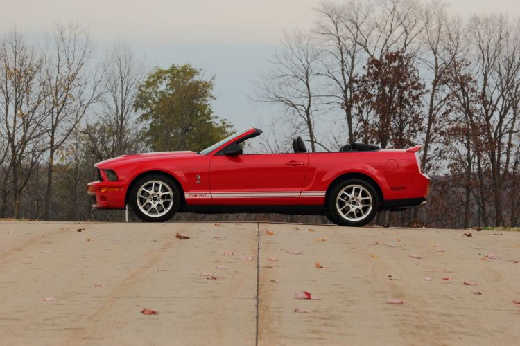 2008 Ford Mustang Shelby GT500 Convertible Muscle USA 4200x2800-02 wallpaper