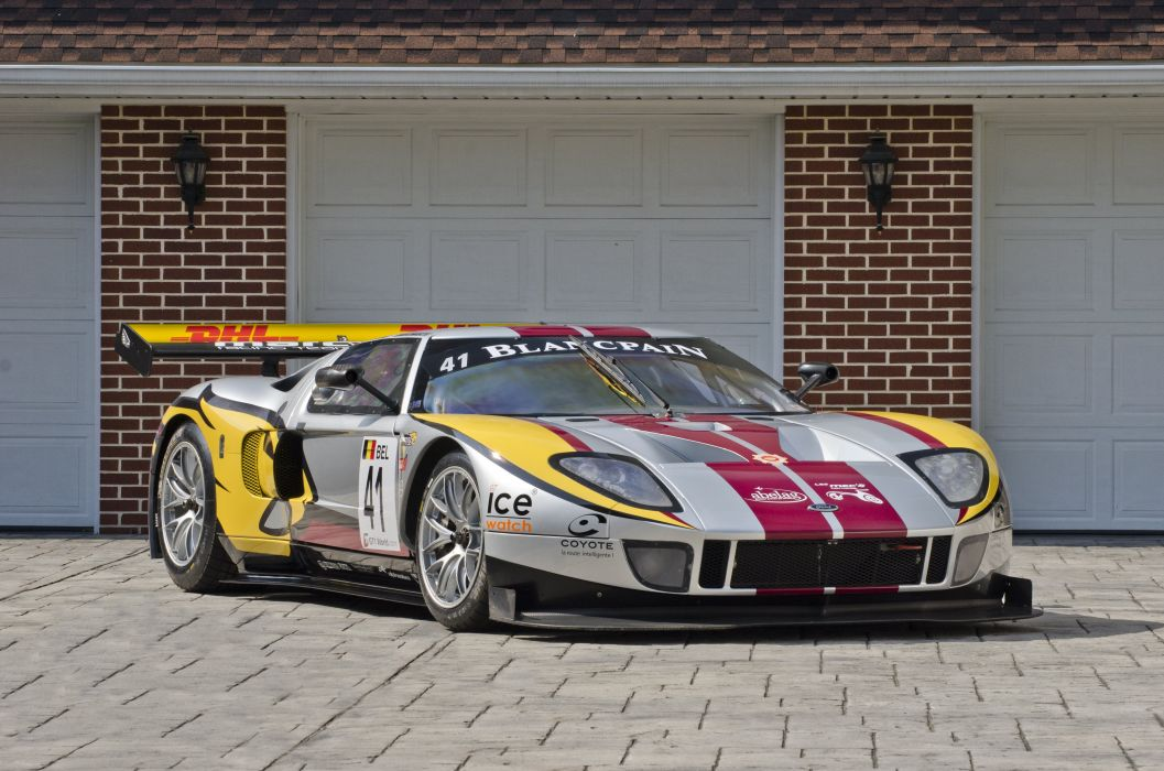 2010 Matech Ford GT1 Race Car Supercar USA 4200x2790-01 wallpaper