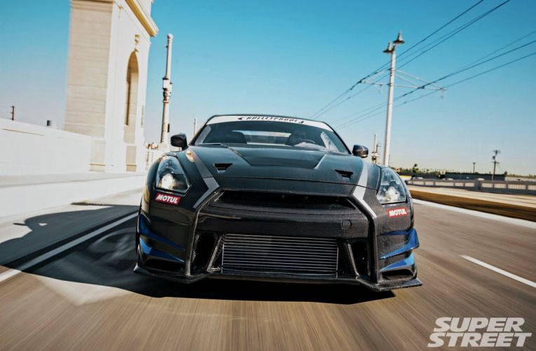 Nissan GT-R cars tuning bodykit carbon wallpaper