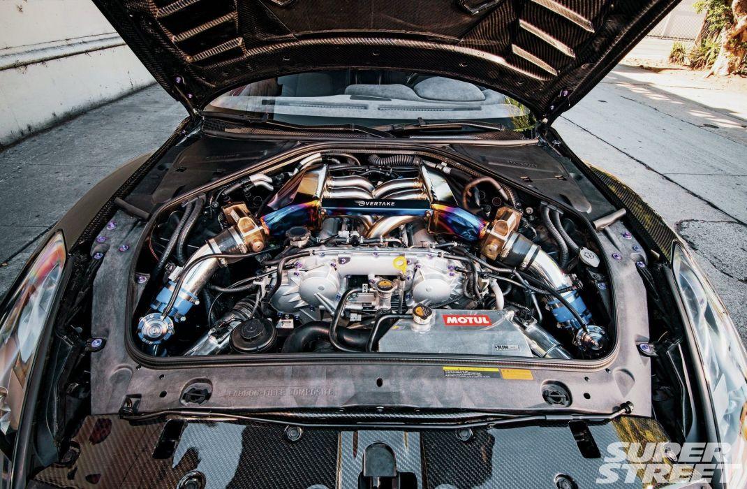 Nissan GT-R cars tuning bodykit carbon wallpaper