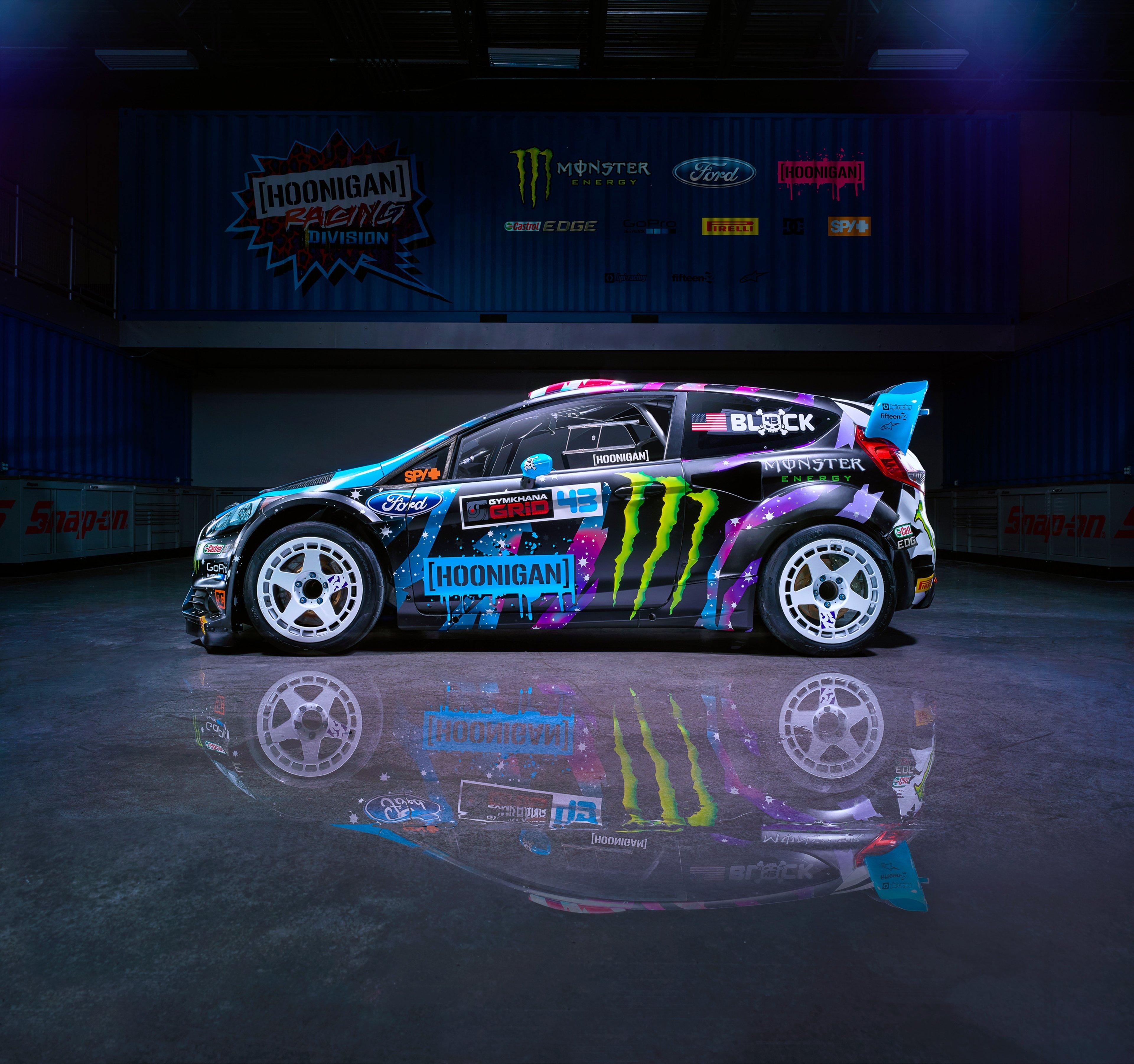 Ford Car Wallpaper: Ford Fiesta RX43 2015 Ken Block Hoonigan Racing Division