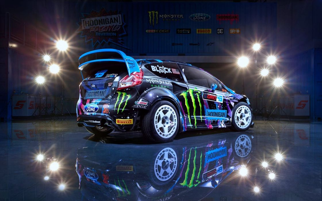 2015 Block Cars Colors Division Fiesta Ford Hoonigan Ken