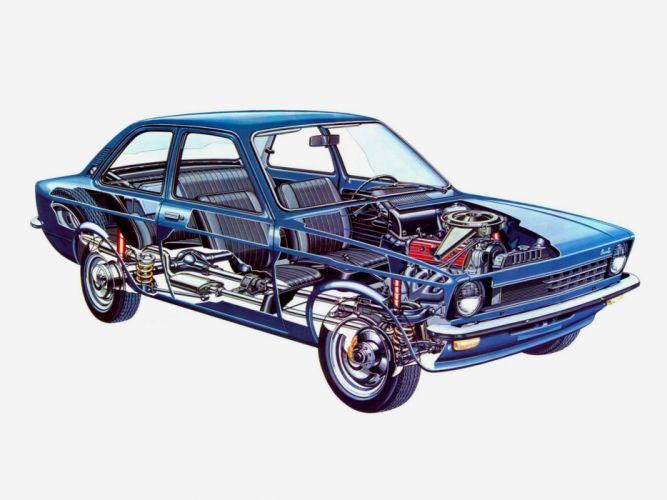 Chevrolet Chevette cars technical wallpaper
