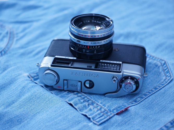 yashica lynx 1000 camera old jeans photos wallpaper