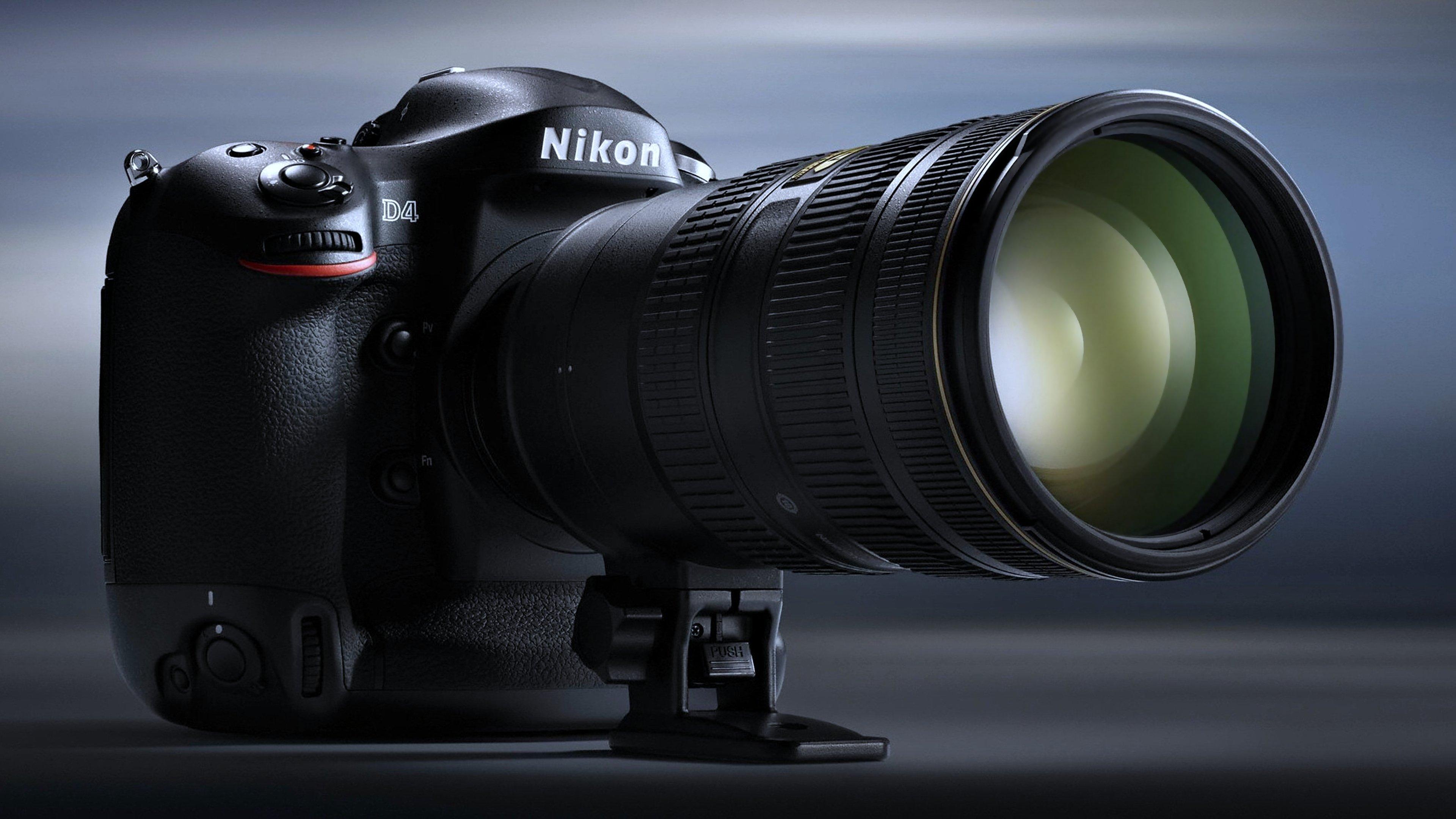 Nikon D4 camera photos Technology wallpaper | 3840x2159 ...