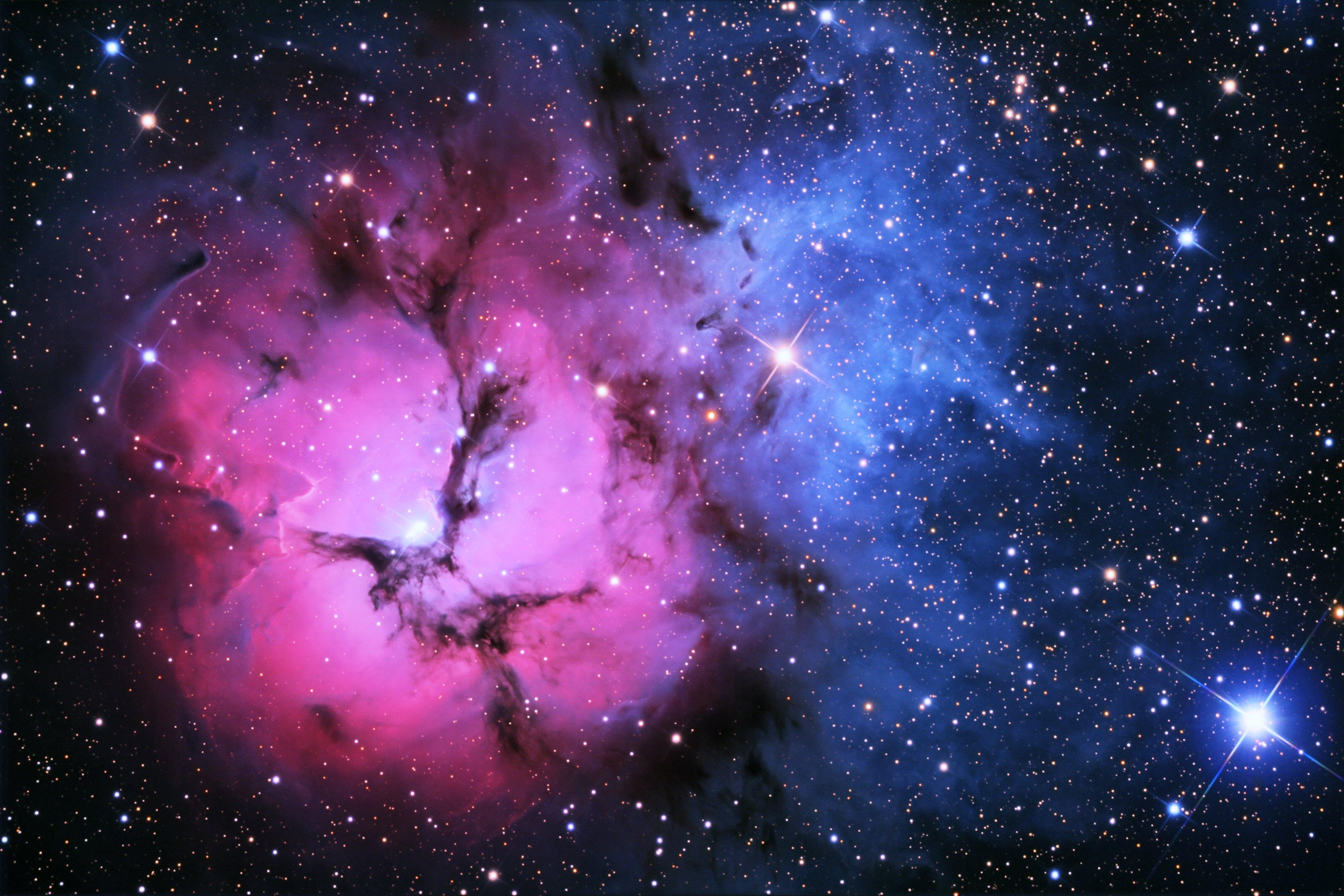 pink nebula galaxy space wallpaper - photo #22