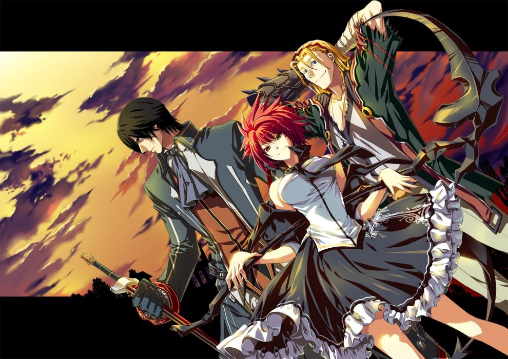 RUSTY HEARTS anime fantasy mmo rpg action fighting exploration 1rusty adventure wallpaper