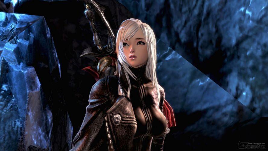 SCARLET BLADE fantasy mmo rpg action fighting girl girls 1sblade warrior sci-fi wallpaper