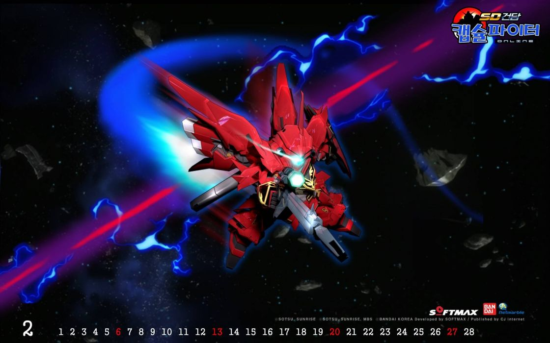 SD Gundam Capsule Fighter Online sci-fi shooter tps action mmo fighhting 1gcfo SDGO mecha wallpaper