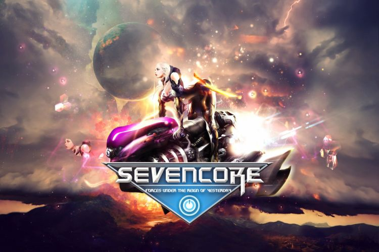 SEVENCORE ONLINE sci-fi mmo rpg action fighting adventure fantasy warrior 1sevenc wallpaper