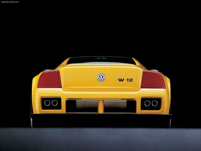 1998 Concept Supercar supercars syncro volkswagen w12 wallpaper