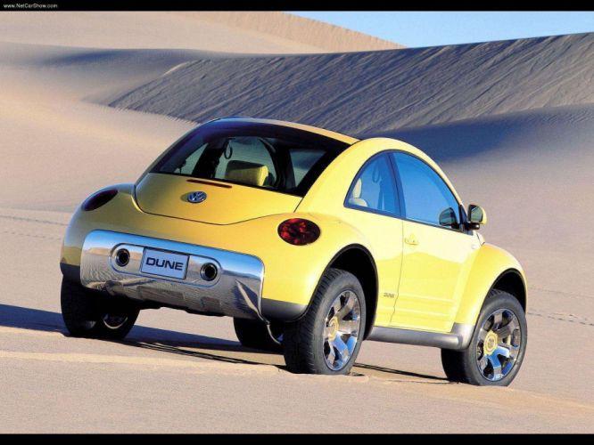 Volkswagen New Beetle Dune Concept cars 2000 wallpaper