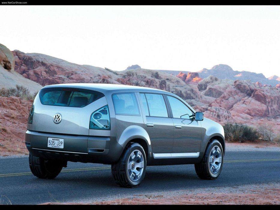Volkswagen Magellan Concept cars suv 2002 wallpaper