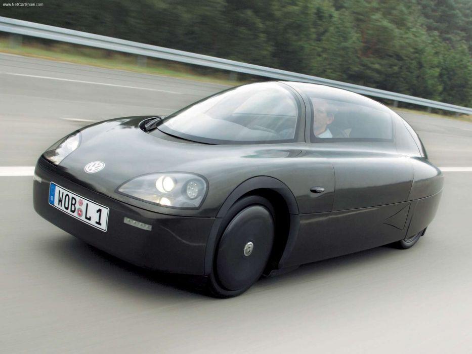 Volkswagen 1-Litre Car Concept 2003 wallpaper