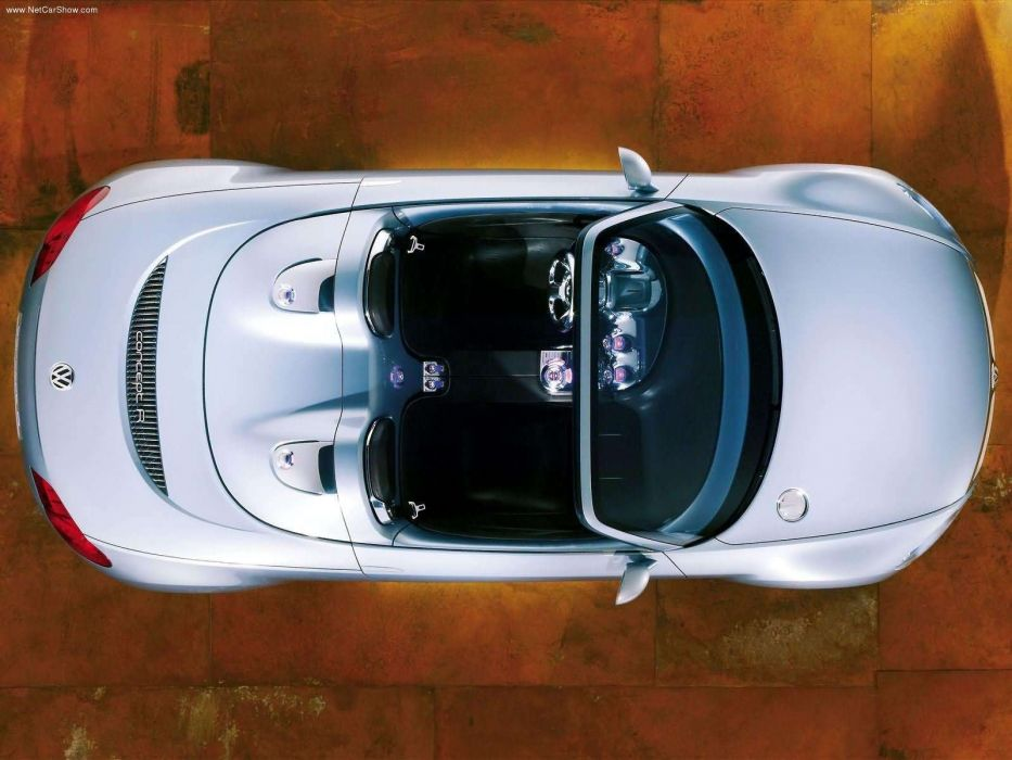 Volkswagen Concept R concept cars convertible 2003 wallpaper