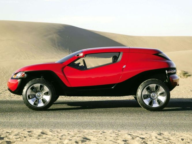 Volkswagen Concept T concept cars suv 2004 wallpaper