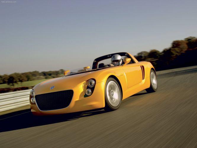 Volkswagen EcoRacer Prototype concept cars 2005 wallpaper