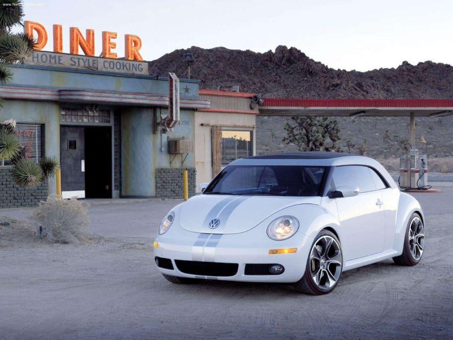 Volkswagen New Beetle Ragster Concept cars 2005 wallpaper