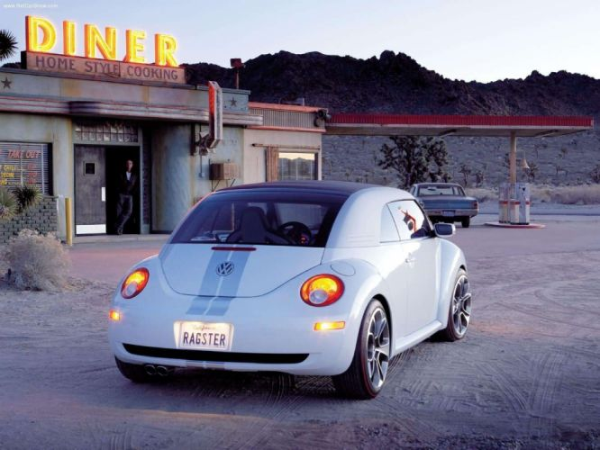 Volkswagen New Beetle Ragster Concept cars 2005 wallpaper