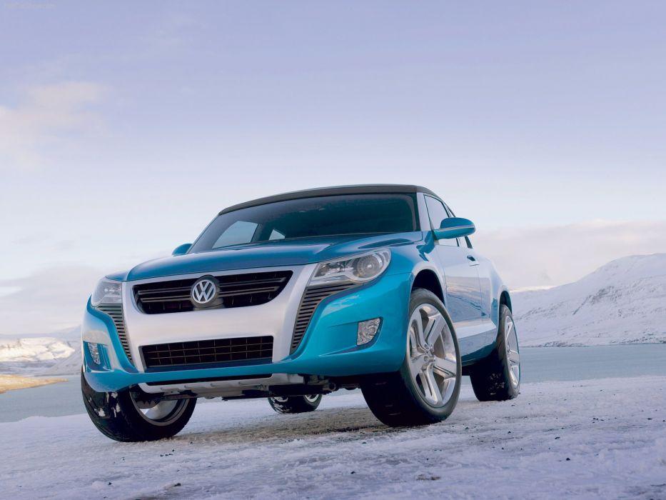 Volkswagen Concept A concept cars suv 2006 wallpaper