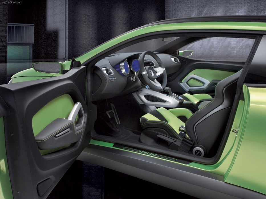 art cars Concept Green iroc scirocco volkswagen 2006 wallpaper