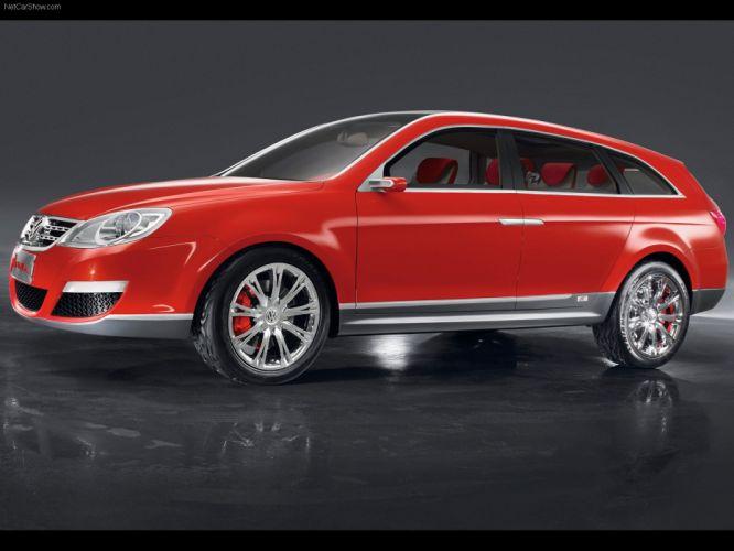 Volkswagen Neeza Concept cars wagon 2006 wallpaper