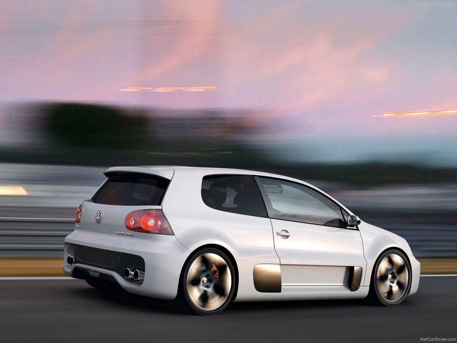 2007 650 Concept golf gti volkswagen w12 cars wallpaper