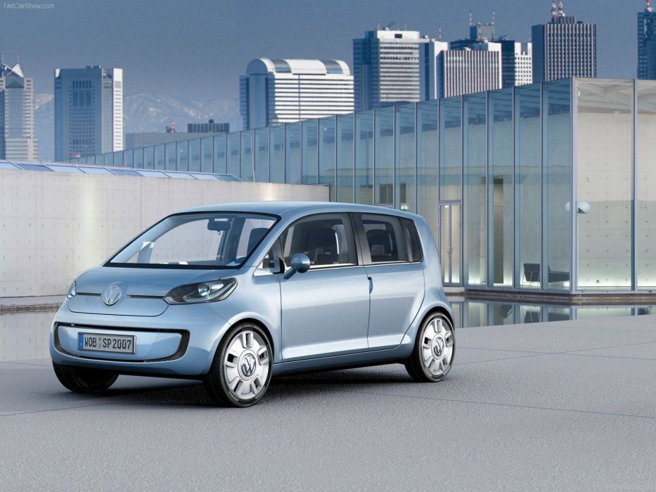 Volkswagen Space Up Concept cars 2007 wallpaper