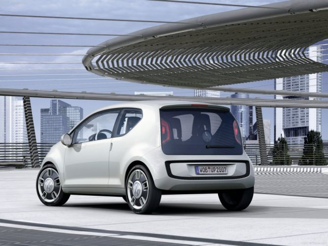 Volkswagen Up Concept cars 2007 wallpaper