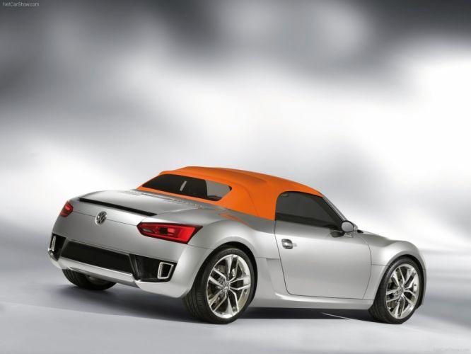 BlueSport Concept volkswagen cars convertible 2009 wallpaper
