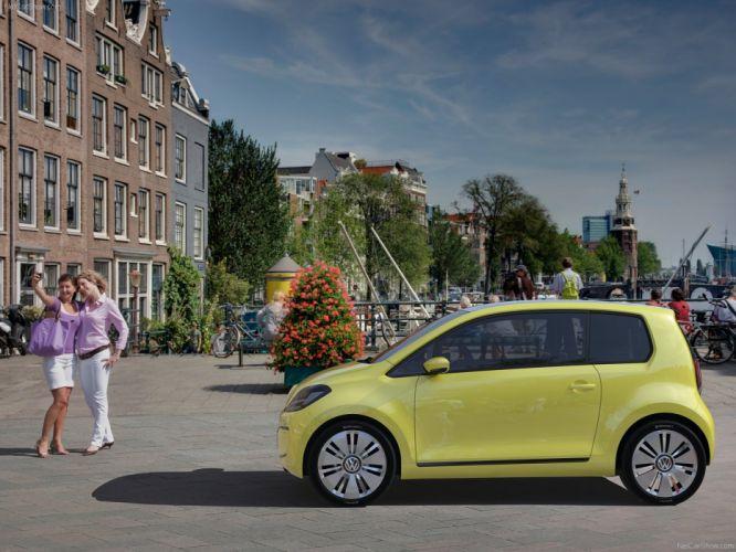 Volkswagen E-Up Concept cars electric 2009 wallpaper