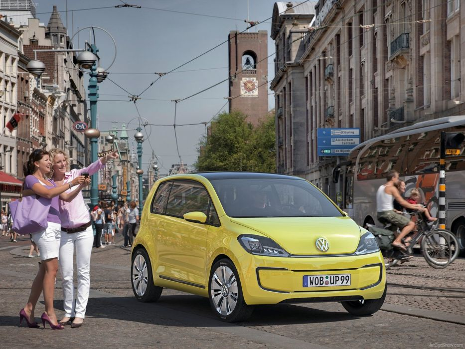 Volkswagen E-Up Concept cars electric 2009 wallpaper