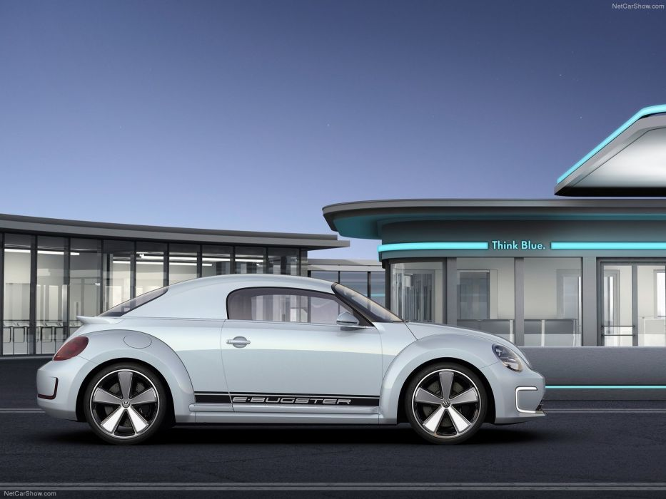 Volkswagen E-Bugster Concept cars electric wallpaper